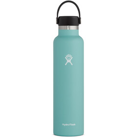 Hydro Flask Standard Mouth Drinkfles met standaard Flex Cap 709ml, turquoise